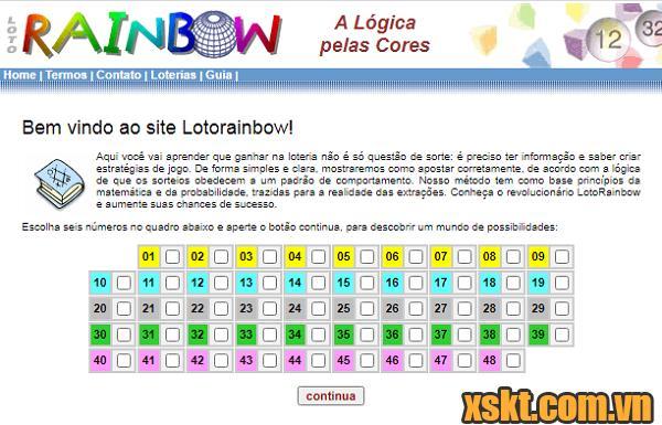 Website dự đoán số trúng độc đắc của nhà toán học người Brazil